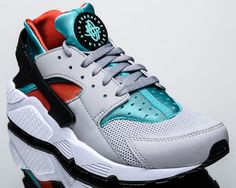 new concept a748b 2c87e Nike Air Huarache men lifestyle casual sneakers NEW flat silver 318429-023.  eBay