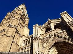 The historic and grand Toledo Cathedral in Spain. Photo by Carley Wooden #UDAbroad