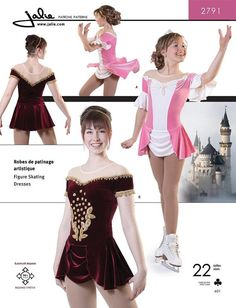Jalie Princess Figure Skating Dancing by AliceInStitchesArts, $13.95  if only I could sew