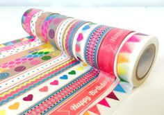 Dovecraft Mash Up Washi Tape -available from Hobbycraft