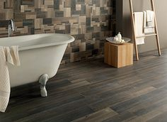 Ceramic in a hardwood look has become extremely realistic, it's trend is growing rapidly as the designs become breathtaking.