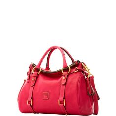 Dooney & Bourke: Florentine Small Satchel  #fuschia <3