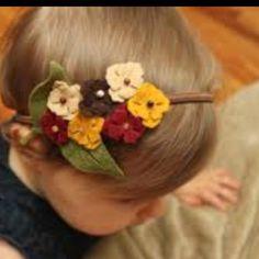 Flower girl headband...cute!