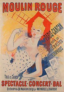 Cheret MoulinRouge ParisCancan.jpg