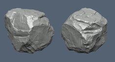 Rock Sculpting, Justin Owens on ArtStation at https://www.artstation.com/artwork/high-poly-rocks