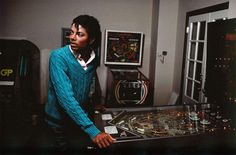 Michael Jackson Loved Pinball
