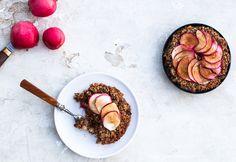 Sund æblekage er let at lave og smager helt fantastisk godt. Den er glutenfri, tilsat et…