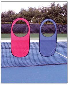 Pop-up targets tennis