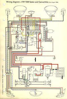 1967 Beetle Wiring Diagram Thegoldenbug Com Diagram Electrical Diagram Beetle