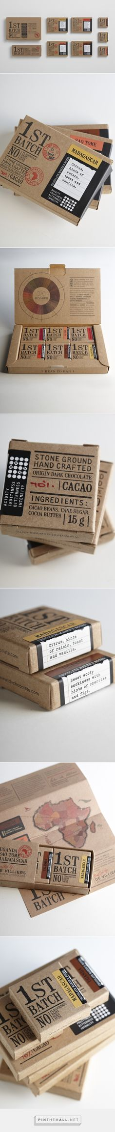 FIRST BATCH CHOCOLATE on Behance  https://www.behance.net/gallery/FIRST-BATCH-CHOCOLATE/9718655 - created via http://pinthemall.net