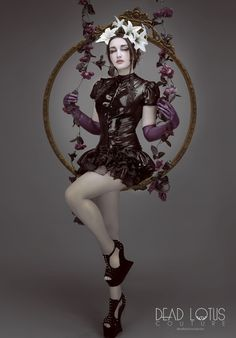 Amazingly beauty and talent from Natalie Shau for Dead Lotus couture NATALIE DRESS www.deadlotuscouture.com #natalieshau #deadlotuscouture #latex