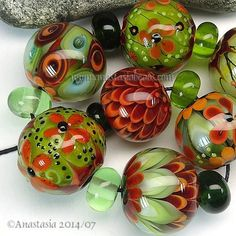 ANASTASIA-lampwork-beads-7-FULL-BLOOM-SRA