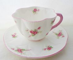 Vintage Teacup Shelley Fine Bone China by alsredesignvintage
