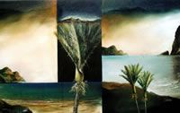 NZ Coastal art with a Maori Heritage influence. These coastal landscapes are worked in oil on canvas, paper or linen often with torn edges depicting the rugged nz coast. View at his Nelson gallery or online. New Zealand Landscape, Coastal Art, Oil On Canvas, Art Gallery, Strong, Contemporary, Artist, Painting, Art Museum