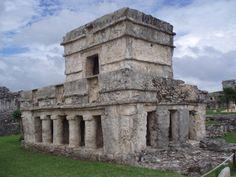 Tulum, Quintana Roo, México. Maya archaeology.