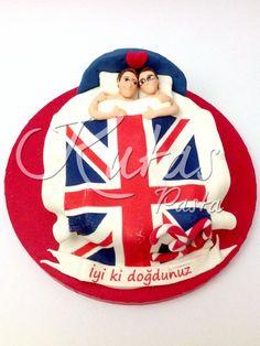 Sevgililer Pastası - Same-sex gay couple cake - Eşcinsel Çift Pastası Gay Couple
