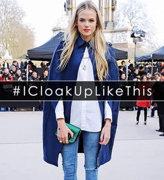 Thanks to today's social media-saturated society, we often catch ourselves accidentally speaking in hashtag. Rather than try to fight the trend, we thought we'd embrace it with a little to via @WhoWhatWear