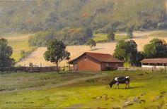"""Alexandre Reider - """"Cena da colonia"""",  óleo s/tela, 30x40cm, 2011."""