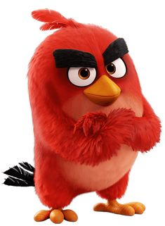 "Red from ""The Angry Birds Movie"""