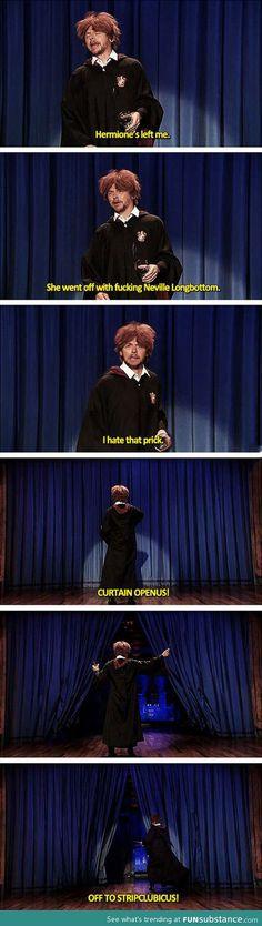 Simon Pegg as Ron Weasley