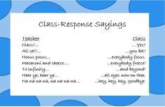 Call-and-Response-Sayings.jpg 815×530 pixels