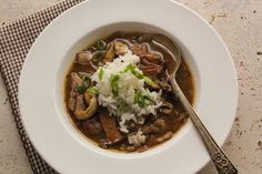 Duck and wild mushroom, a delicious combo that's perfect for fall – Duck and Wild Mushroom gumbo