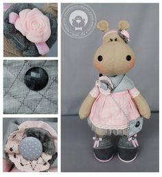Мягкие прелести от Wolli Chi: Бегемот/Hippopotamus