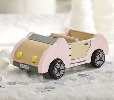 cutest little dollhouse car.