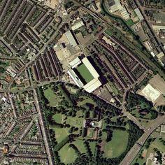 size: Photographic Print: Aston Villa's Villa Park Stadium, Aerial by Getmapping Plc : Aston Villa Wallpaper, Aston Villa Fc, Aston Villa Stadium, Star Fort, Villa Park, Ceiling Art, Birmingham Uk, Planning Permission, Leaving Home