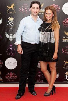 la présentatrice et DJ Rita Mendes en escarpin TORANJA