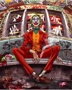 Joker® batman DC comics The beast Le Joker Batman, The Joker, Joker Comic, Joker Art, Joker And Harley Quinn, Joker Clown, Batman Arkham, Comic Art, Joker Images