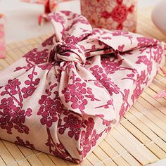 Go #green with this eco-friendly gift wrap idea. http://www.parents.com/fun/birthdays/themes/tea-party-japanese/?page=6