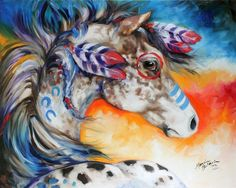 APPALOOSA INDIAN WAR HORSE | Marcia Baldwin