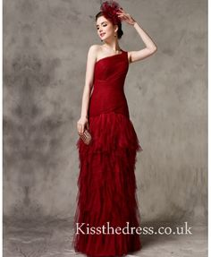 Red Tulle One Should