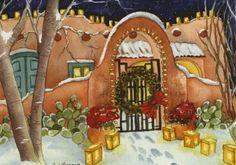 """Santa Fe Night"" ~ by Dena Cooper"