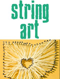 project 2 of 33 : string art