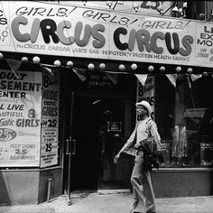 Was 1970s Times Square sleazier than 1980s Times Square?