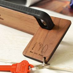 Personalised Phone Stand Keyring – Fits Most Handsets