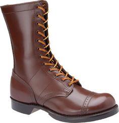 """Men's Corcoran 10"""" Historic Military Brown Jump Boot - Brown"""