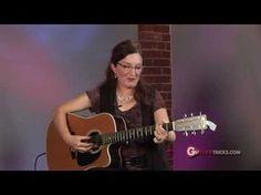 ▶ Acoustic Guitar Fingerpicking Lesson - Acoustic Guitar Lesson - Guitar Tricks 30 - YouTube