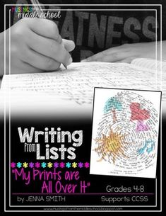 Writing from Lists: My Prints Are All Over It by Musings from the Middle School Middle School Writing, Middle School Teachers, Formative And Summative Assessment, Editing Checklist, World Language Classroom, Writing Genres, Argumentative Writing, Writers Notebook, Writer Workshop