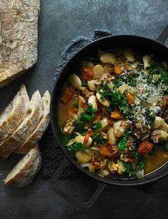 Sausage ribollita one-pot delicious sainsburys