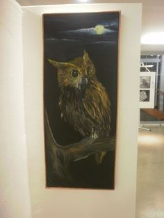 Corpoelec,2012 Oleo sobre tela 30x70 cm