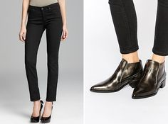The Best Jean and Boot Combinations for Fall via Brit + Co.