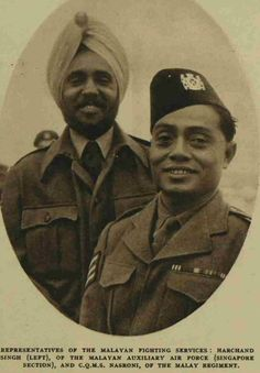 Malayan AAF and Malay Regiment Malayan Emergency, Ww2, 1930s, 19th Century, Real Life, British, Military, Events, Memories