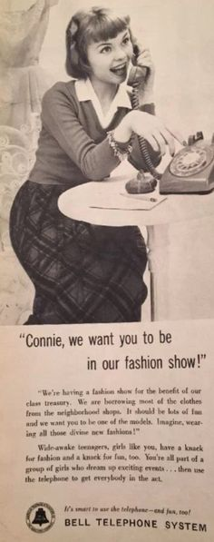 Bell Telephone advertisement