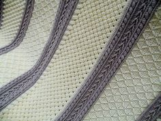 6 Stitches Crochet Aran Throw - Free Pattern