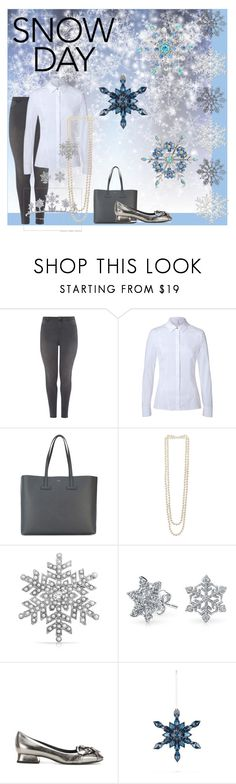 """Snow Day"" by shell-moore ❤ liked on Polyvore featuring Dorothy Perkins, ESCADA, Tom Ford, Kenneth Jay Lane, Bling Jewelry, Bottega Veneta and Baccarat"