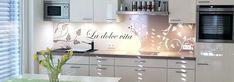 Küchenrückwand – schöne Ideen und Alternativen zu Fliesenspiegel