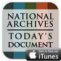 The Today's Document mobile app from the US National Archives is an interactive gallery of 365 documents and images from the National Archives